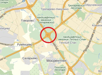Развязка Ленинского проспекта