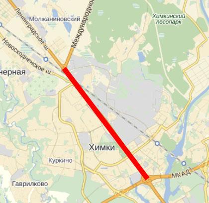 Проект «Большая Ленинградка»
